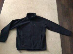 Mens Black Berghaus Full Zip Fleece Jacket - XXL