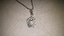 sterling silver sand dollar neclace