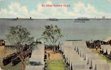 Tennessee Military An Ideal Soldier Camp Antique Postcard J71118