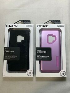 Incipio Dual-Pro Case for Samsung Galaxy S9- Multiple Colors!