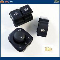 3 X Für VW Golf 5 6 Passat 3C B6 B7 Schalter Spiegelverstellung 1K0959565K NEU