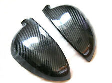 New 2pcs Side Mirror Cover Protector For Volkswagen VW Golf 5 V MK5 Carbon Fiber