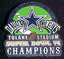 Dallas Cowboys Super Bowl 6 VI Champions Comm Series Pin Willabee & Ward