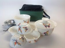 Gong Fu Tea Travel Set Butter Fly Best Seller