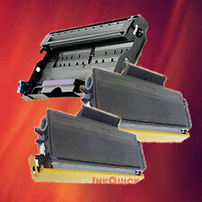 Toner Cartridge TN-650 & Drum DR-620 for Brother 3 Pack