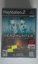 PS2 SONY PLAYSTATION 2 SEALED HEADHUNTER REDEMPTION SEGA ITA