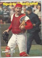 1967 9/4 Sports Illustrated magazine Tim McCarver St. Louis Cardinals PAPER LOSS