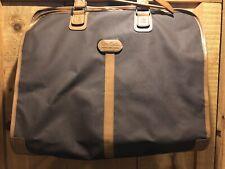 Vintage Pierre Cardin Leather Garment Bag Luggage Brown