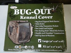 """Avery Bug Out Kennel Cover Large 36"""" x 26"""" x 28"""" Hunting Dog Supplies"""