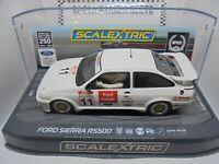 Scalextric C3718SE BTCC anniversary Ford Sierra RS500 DPR/PCs lights m/b