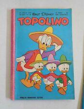 Topolino Libretto Arnoldo Mondadori N°191 luglio 1958