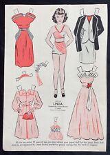 1948, Linda Mag. Paper Dolls, Wee Wisdom Mag., Dorothy Wagstaff Artist