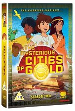 The Mysterious Cities of Gold. complete series 2. season animated. 4 DVD NEUF