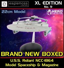 More details for star trek starship collection xl edition uss reliant ncc-1864 - 22cm model - new