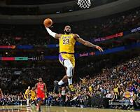 "LeBron James Los Angeles Lakers Unsigned Dunking 8"" x 10"" Photo - Fanatics"