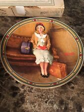 Collectible Plate -A Young Girls Dream By Norman Rockwell 1st Plate Coa