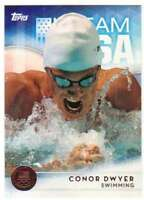 2016 Topps US Olympic Team USA Bronze #24 Conor Dwyer  Swimming