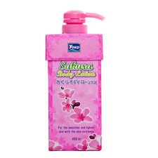 [YOKO] Sakura Cherry Blossom Moisturizing Body Lotion 400ml NEW
