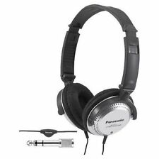 NEW Panasonic Best in Class Over-the-Ear Stereo Headphones RP-HT227 Black Silver