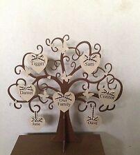Wooden Family Tree 40cm X 40cm