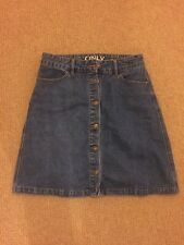 Only A Line Denim Skirt Perfect Condition EU Size 34 (UK10)