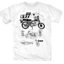 T-shirt da uomo MZ i moto i DDR i proverbi i Fun i divertente fino a 5xl
