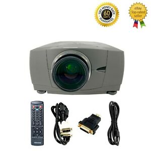 Christie LW300 3LCD Projector WXGA Conference Room HDMI-adapter bundle