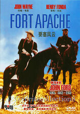Fort Apache (1948) - John Wayne, Shirley Temple, Henry Fonda - DVD NEW