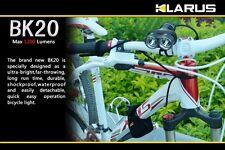 Klarus BK20 Dual Head LED Rechargeable Bicycle Bike Light, 1200 Lumen, US Seller