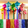 New Fashion10xColorful Foil Tassel Party Halloween Christmas Balloon Decoration