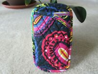 Vera Bradley Twilight Paisley Print Double Eyeglass/Sunglass Soft Pouch Case NWT