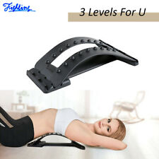 Magic Back Lumbar Stretcher Massager Spine Posture Corrector Support Pain Relief