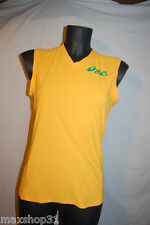 TOP DEBARDEUR MAILLOT ASICS DUO TECH  RUNNING ATHLESTISME COURSE JOGGING FITNESS