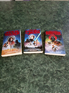 Star Wars Trilogy Set Of 3 paperback Novels Warner Books