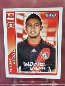 Arturo Vidal Bayer Leverkusen Bundesliga 2010/11 Topps Sticker