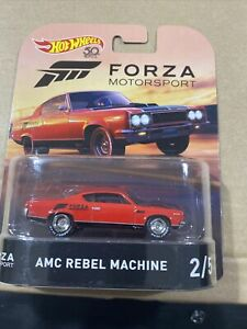 Hot Wheels For a Motorsport AMC Rebel Machine Red
