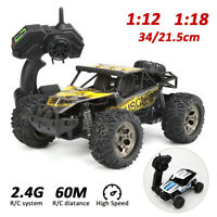 1/12 1/18 Drifting RC Car Truck Off-Road Vehicle Electric 2.4G Remote