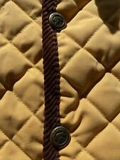 Sarm Hippique Quilted Horse Country Jacket Med- Large Equestrian Made in Italy