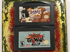 Rugrats Castle Capers+Go Wild Nintendo Gameboy ADVANCE GBA Tested AUTHENTIC