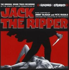 OST/SOUNDTRACK - JACK THE RIPPER  CD NEW! MCHUGH,JIMMY/PETE RUGOLO