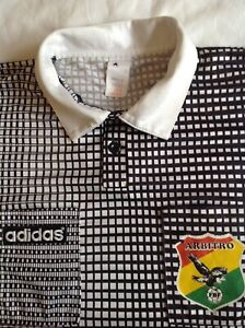BOLIVIA ADIDAS VINTAGE 90'S REFEREE (ARBITRO) FOOTBALL SHIRT XL