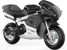MotoTec Phantom Gas Pocket Bike - Stroke Black