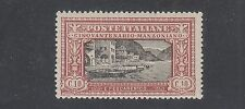 ITALY #165 Mint Hinged 1923 Showing: FISHING SCENE from Manzoni's Work SCV $24
