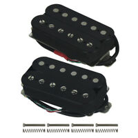 US Alnico 5 Humbucker Double Coil Electric Guitar Pickup Neck / Bridge / Set