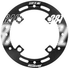 Reverse 7075 Alloy Bash Guard Bashguard Ring 104mm BCD 7075 Alloy 38T Black