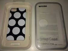 Incase Snap Case for iPhone 5 & 5S - Black/White Polka Dots