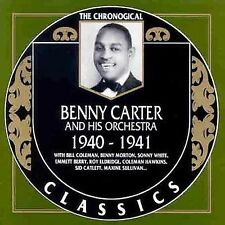 1940-1941 by Benny Carter (Sax) (CD, Mar-1992, Classics)