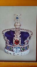 Imperial State Crown Made For George V1 1937. Postcard
