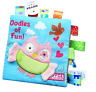 New Kids Animals Soft Cloth Book Early Learn Education Baby Development Toy AU