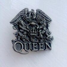 QUEEN Freddie Mercury Crest Pin Badge, Inferno, Alchemy, Poker, Rox Etc..
